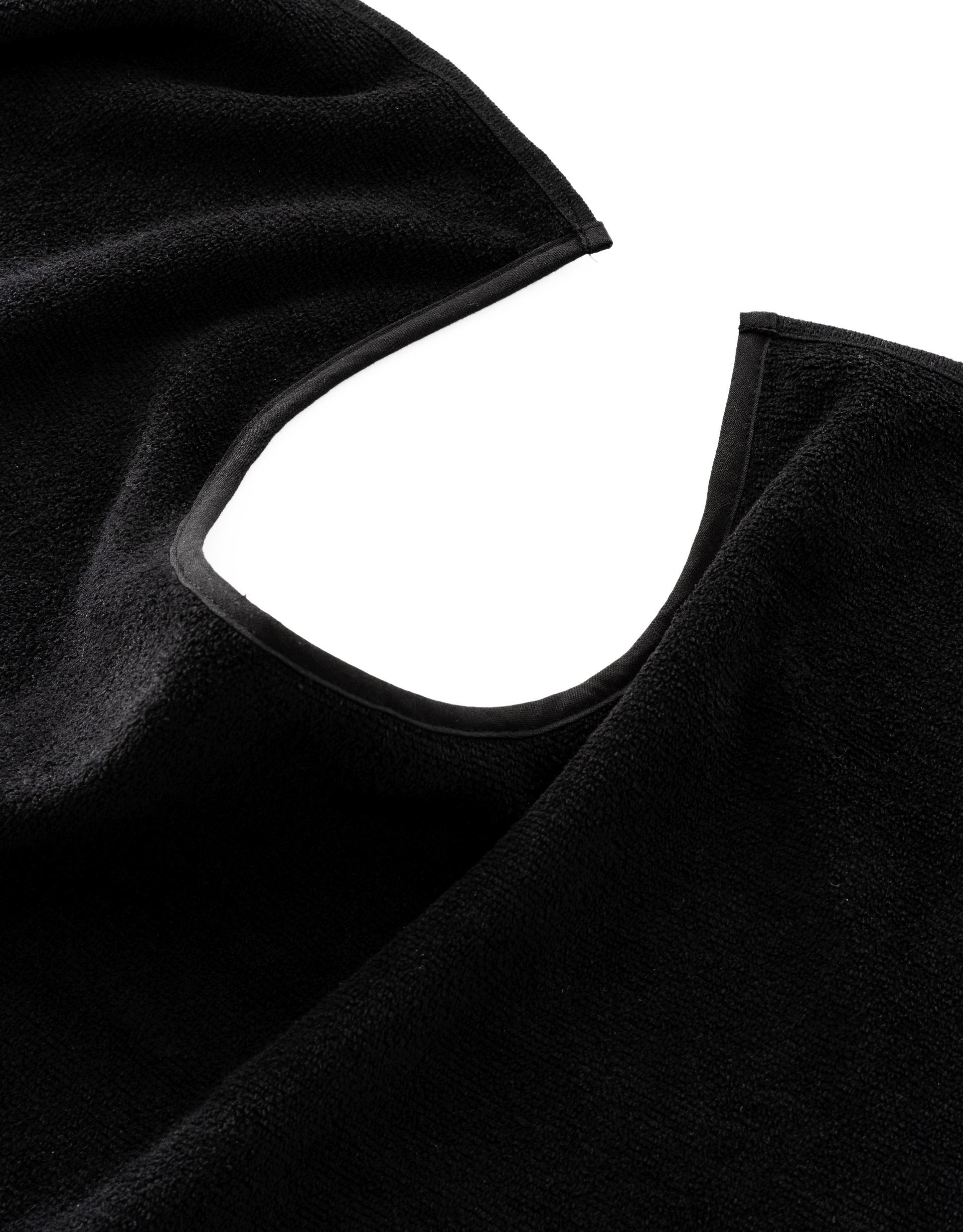 Handtücher mit Halsausschnitt schwarz